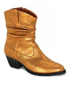 Love this Bronze Hannah Boot on #zulily! #zulilyfinds