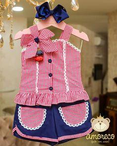 Kids Dress Wear, Little Girl Outfits, Little Girl Dresses, Kids Outfits, Baby Girl Dress Patterns, Baby Boy Dress, Toddler Dress, Fashion Kids, Baby Girl Fashion