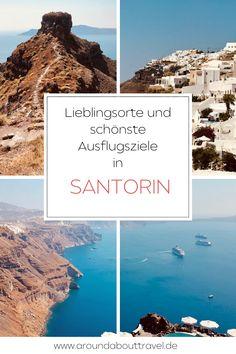 Lieblingsorte wie Oia oder Thira oder der Besuch eines typischen Santoriner Weinguts!