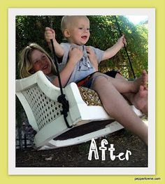 old chair = swing