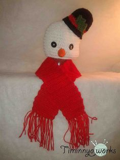 Snowman with hat for babies