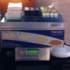 This great machine produces really tasteful pancakes! Wonderful!