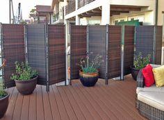 37 outdoor privacy screens ideas