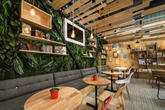 9¾ Bookstore + Café | Galeria da Arquitetura