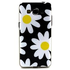 witte+bloemen+patroon+TPU+soft+cover+voor+Galaxy+grand+neo+i9060+–+EUR+€+3.91