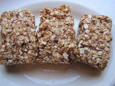 No-Bake Date & Oat Squares