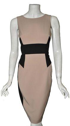 ZINA COLOR BLOCKED DRESS