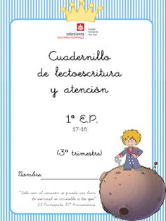 El blog de nuestros peques 1º y 2º : CUADERNILLO LENGUA DEL 3º TRIMESTRE Elementary Spanish, Spanish Class, Sign Language, Merry Xmas, Literacy, Homeschool, Crafts For Kids, It Cast, Place Card Holders