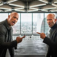 Hobbs and Shaw, Dwayne Johnson, Jason Statham, Wallpaper The Rock Dwayne Johnson, Dwayne The Rock, Jason Statham, Idris Elba, Vin Diesel, Fast And Furious, Vanessa Kirby, Captain Marvel, Dwane Johnson