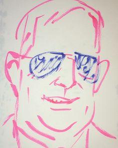 いいね!4件、コメント1件 ― @1mindrawのInstagramアカウント: 「#1mindraw #sydmead #シドミード #ブレードランナー #ターンエーガンダム #19330718 #birthday #誕生日 #portrait #筆ペン画」