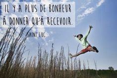 Citation bonheur de Saint Luc