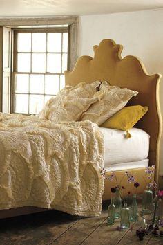 Regency Linen Bed - anthropologie.com #anthrofave