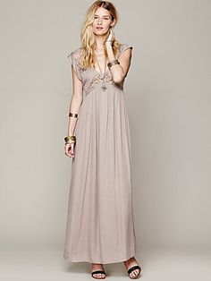 Free People San Jose Maxi Dress Jenny Cruger Photography Studio Collection Dress for client use
