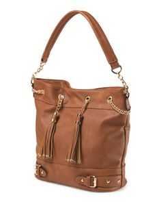 d522ac80b1ef Bucket Bag With  Tassels  MelieBianco  Handbags  Purse Bucket Bag