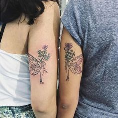 Flower Wrist Tattoos, Wrist Tattoos For Guys, Matching Best Friend Tattoos, Matching Tattoos, Et Tattoo, Back Tattoo, Inner Elbow Tattoos, Bicep Tattoos, Calf Tattoos