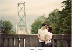 Lions Gate Bridge from Stanley Park (Spark Photography)