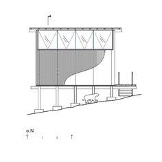 Charred Cabin / Nicolas del Rio