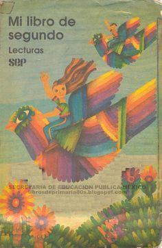 Libros de Primaria de los 80's: Mi libro de segundo Lecturas