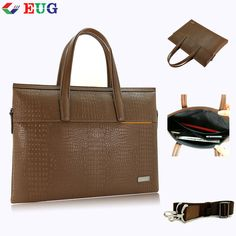 172429f6da1a eBay  Sponsored Men Business Real Leather Bag Fashion Office File Laptop Handbag  Genuine Cowhide