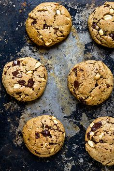Can anyone else tell that the cravings are killing me? ;) Peanut Butter Chocolate Chunk Cookies by foodiebride