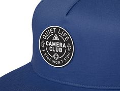 ddb26adc5ba Don t Stop Royal Snapback Cap by THE QUIET LIFE