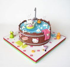 Pirikos na Cozinha: 3D Hello Kitty ... 3.360 kg