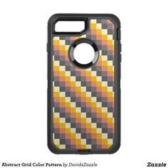 Abstract Grid Color Pattern Phone Case  Available on more products! Just click the 'Available On' link on this product's page! Thanks for looking!  @zazzle #art #abstract #grid #pattern #orange #grey #gray #yellow #square #modern #phone #case #iphone #apple #samsung #computer #accessory #fashion #style #accessories #fun #chic #life #lifestyle #cool #sweet #buy #shop #shopping #gift #idea #sale #gear #neat