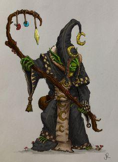 Night Goblin Shaman by Solomon-Mordecai on deviantART