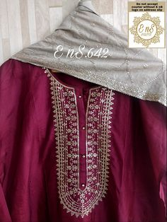 Pakistani Bridal Wear, Pakistani Dresses, Indian Dresses, Stylish Dresses For Girls, Nice Dresses, Casual Dresses, Silk Kurti Designs, Kurti Designs Party Wear, Indian Suits