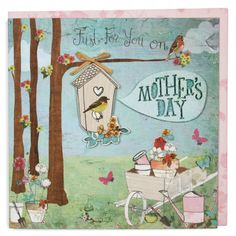 Birdhouse Mother's day card