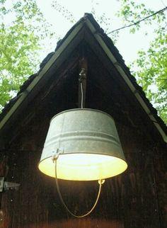 Nice idea for out door lighting!