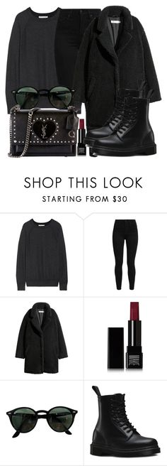 """Untitled #5313"" by beatrizvilar on Polyvore featuring Vince, Levi's, Make, Ray-Ban, Dr. Martens and Yves Saint Laurent"