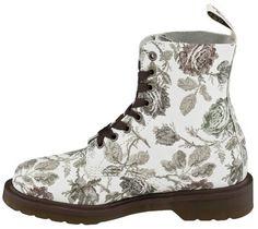 Have these, RARE! Dr Doc MARTENS SIZE 7 PASCAL WOMENS TAPESTRY PRINT LEATHER BOOTS