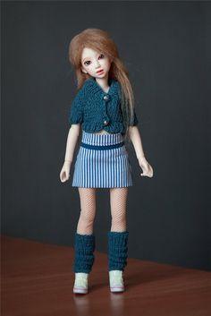 Нежная Аннет (Nano Haruka + Azone XS) / Шарнирные куклы BJD / Шопик. Продать купить куклу / Бэйбики. Куклы фото. Одежда для кукол