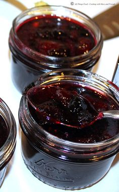 Cooking With Mary and Friends: Triple Berry Grand Marnier Jam
