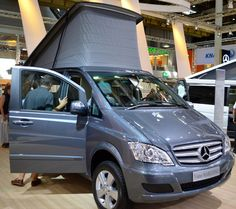 The 163-hp Marco Polo Edition CDI 2.2 here includes a 4Matic all-wheel drive for all-conditions traction