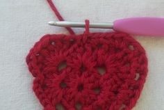 With Valentine's Day just a couple weeks away, I thought it would be fun to post a quick heart tutorial! This heart is pretty easy and fast; the first two rounds of this heart are just a simp…