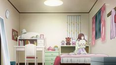 Image result for bedroom in anime film