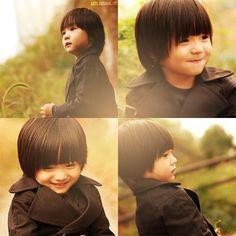 Leoooo. Love you. So cute.  I wish my boy would look like you later. XOXOXOXO...