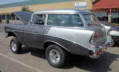 1956 Chevy shorty wagon gasser