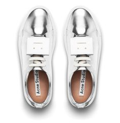 The Acne Studios - Adriana sneaker | Metallic Silver