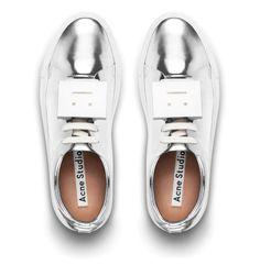 The Acne Studios - Adriana sneaker | Metallic Silver