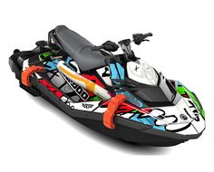 Discover the Sea-Doo SPARK TRIXX with features like the handlebar with adjustable riser, Step Wedges and the Extended Range Variable Trim System. Seadoo Jetski, Jet Ski Trailer, Beer Bike, Jet Skies, Cool Boats, Outboard Motors, Fuel Injection, Water Crafts, Sport Bikes