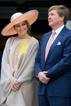 Queen Máxima, May 19, 2015 in Fabienne Delvigne | Royal Hats