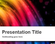 Paint powerpoint template suitable for art presentations for Flash powerpoint presentation templates