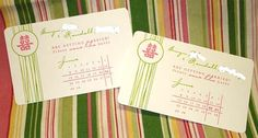 Wedding Stationery & Invitation Suites - Ideas