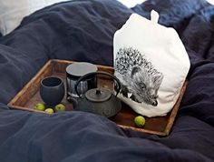 By Nord Hedgehog Tea/Coffee Cosy Sunday Readings, Throw In The Towel, Vintage Gothic, Tea Cozy, Fun Cup, Nordic Design, Textile Prints, Textile Design, Danish Design