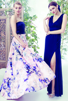 Beautiful floor-sweeping gowns, perfect for a bridesmaid or maid of honor. Visit LE CHÂTEAU's Wedding Boutique for more dresses, shoes and accessories for the bride and the entire bridal party.