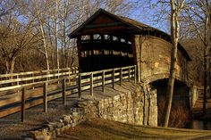old covered bridge....