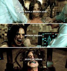 ''Boy with a broken soul. Broken dreams, silent screams.'' / Bucky Barnes : The Winter Soldier